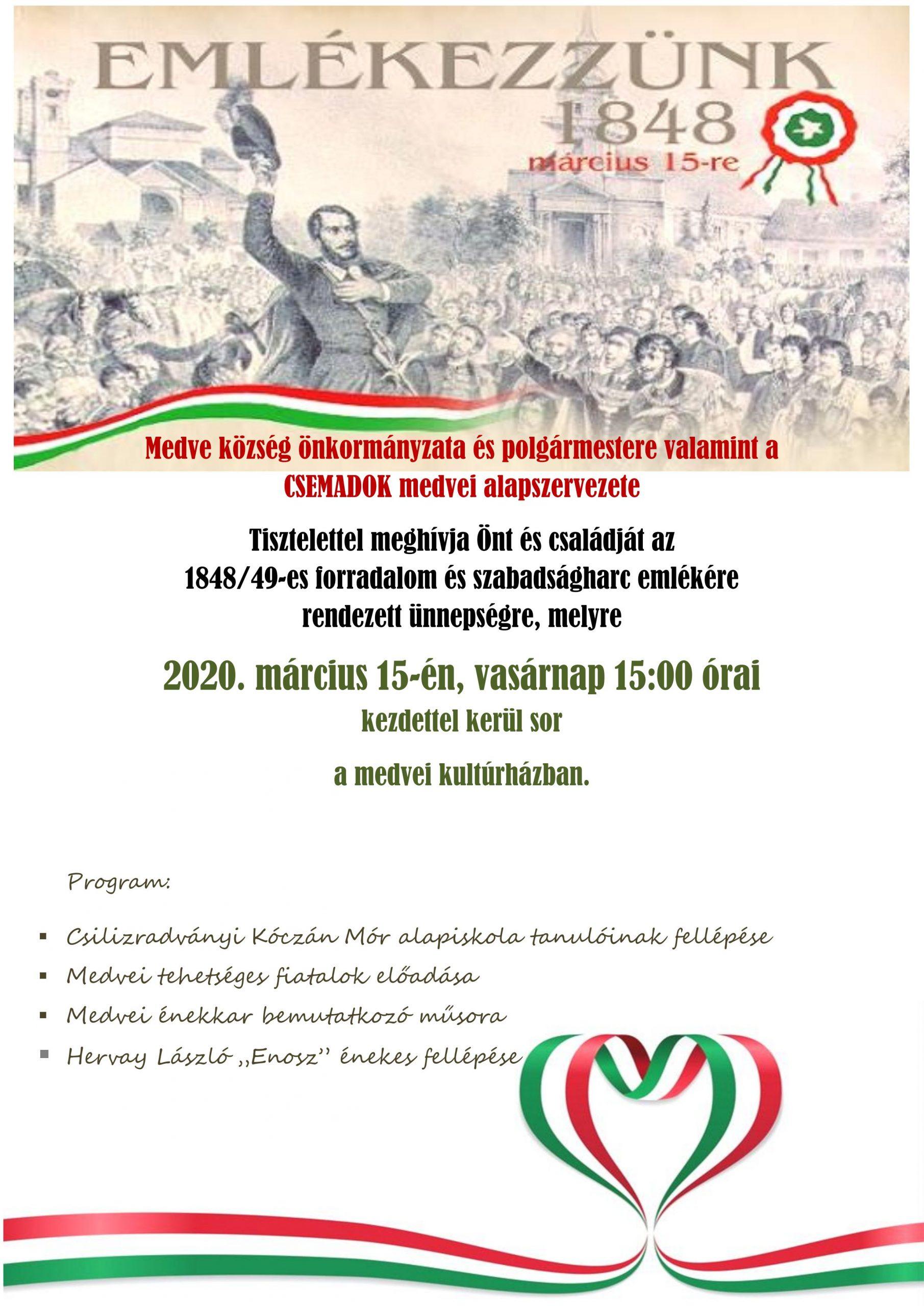 Pozvánka – 15. marca